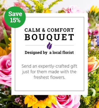 Calm  Comfort Bouquet  Local Florist Designed
