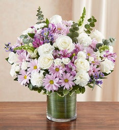 Cherished Memories™ Lavender & White