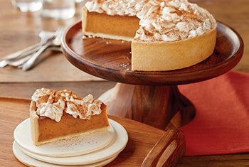 Share a delectable dessert featuring fall flavors