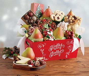 Christmas gift baskets & towers