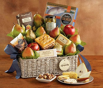 Sympathy gifts baskets flowers food gifts harry david send your condolences with sweets negle Choice Image