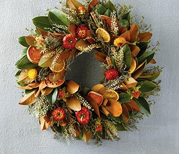 Autumn wreaths & décor