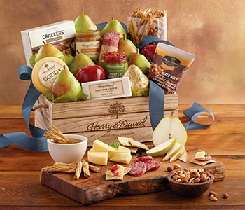 Gift baskets food gift baskets towers more harry david iconic gourmet gift baskets negle Choice Image