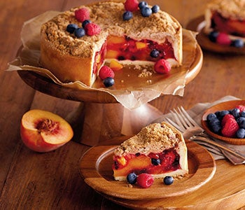 Discover an array of fruit desserts