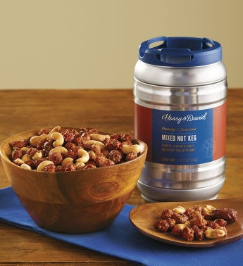 Mixed Nut Keg