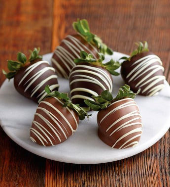 Chocolate-Covered Strawberries - Half Dozen