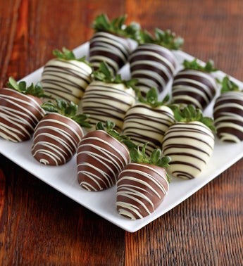 Triple-Dipped Chocolate-Covered Strawberry Medley