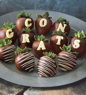 Congrats Chocolate-Covered Strawberries