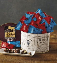 Chocolate Moose Munch® Bites Tin