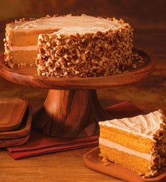 Maple Pumpkin Spice Layer Cake