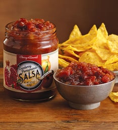 Cranberry Pomegranate Salsa