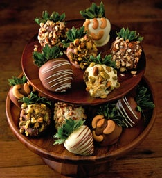 Nut Lover's Chocolate-Covered Strawberries