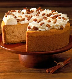The Cheesecake Factory® Pumpkin Cheesecake