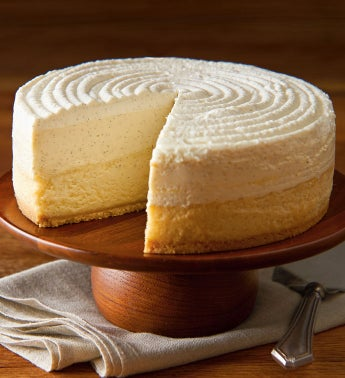 The Cheesecake Factory® Vanilla Bean Cheesecake
