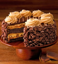 The Cheesecake Factory® REESE'S® PB Chocolate Cake Cheesecake