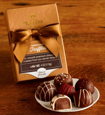 12 Signature Chocolate Truffle Samplers