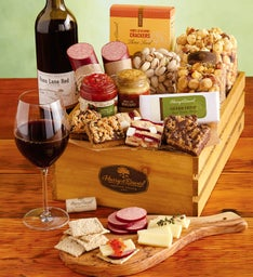Summer Snack Crate with Wine