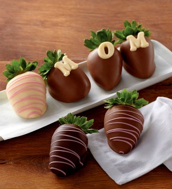Mother's Day Chocolate-Covered Strawberries - Half Dozen