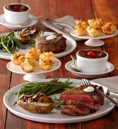 Filet Mignon Dinner for Two