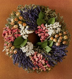 Nigella Spring Wreath