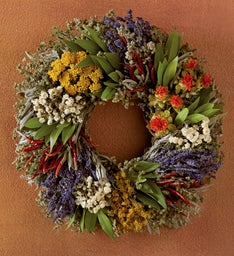 Chili Pepper Wreath