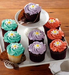 more® Bright Blossom Cupcakes