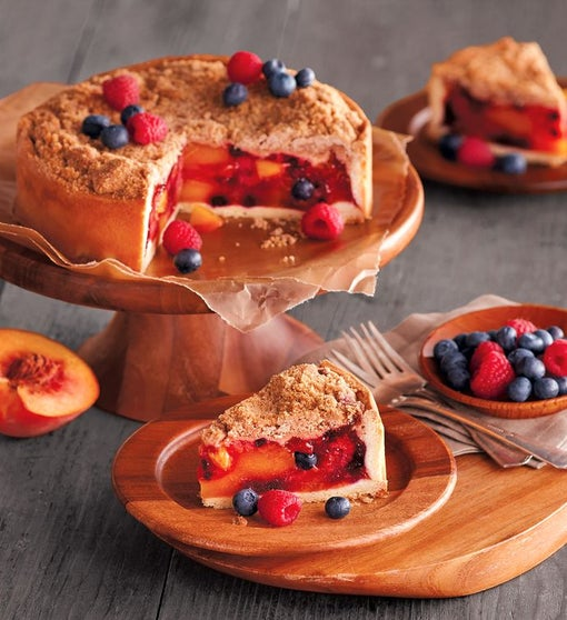 Peach and Berry Pie