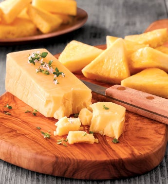 Pineapple and SeaHive Cheese