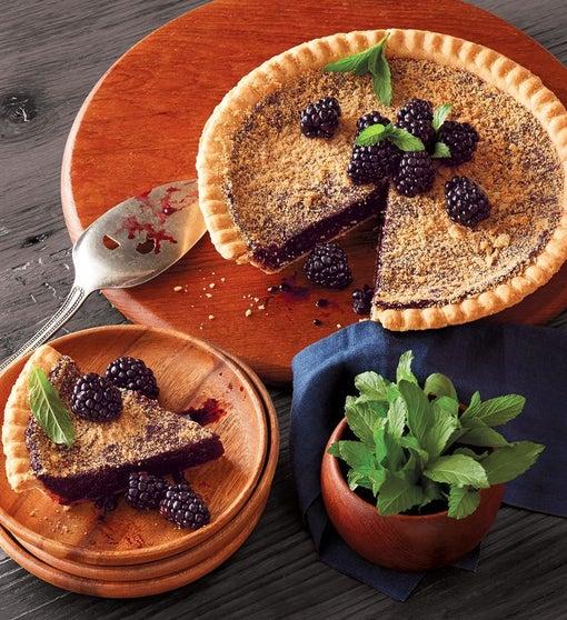 Gluten Free Marionberry Pie