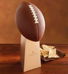 Chocolate Football Party Centerpiece