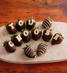 Personalized Chocolate-Covered Strawberries