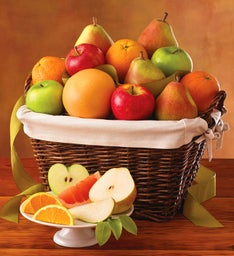 12-Month Organic Gift Basket Fruit-of-the-Month Club® Collection (Begins in February)