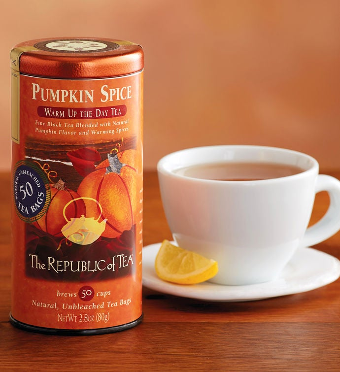 Pumpkin Spice Tea