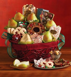 12-Month Medley Gift Basket Fruit-of-the-Month Club® Collection (Begins in December)