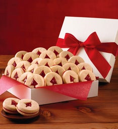 Holiday Shortbread Cookie Gift Box