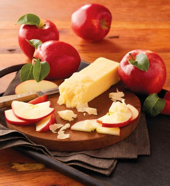 Seasonal Apples and Aged White Cheddar