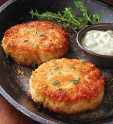 Stock Yards™ Crab Cakes - Six 3.25-Ounce Pieces