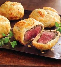 Stock Yards® Beef Wellington Entrées - Six Eight-Ounce Pieces