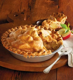 Sweet Lady Jane Deep Dish Apple Pie