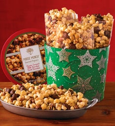 Holiday Moose Munch® Gourmet Popcorn Drum