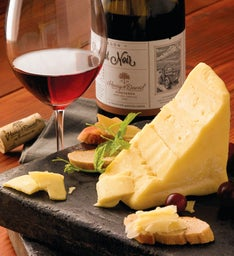 Sartori® MontAmoré® Cheese and Harry & David 2013 Pinot Noir