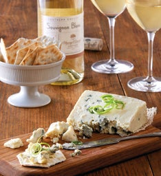 Sartori® Gorgonzola Cheese and Harry & David™ Sauvignon Blanc