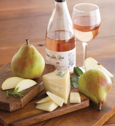 Royal Riviera® Pears, Manchego Cheese, and Harry & David™ Pinot Noir