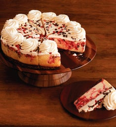 The Cheesecake Factory® Peppermint Bark Cheesecake - Restaurant Size