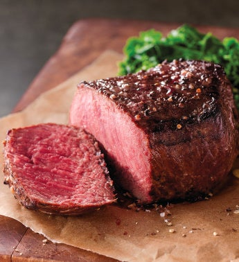 Stock Yards174 Filet of Top Sirloin 8211 Four 6-Ounce USDA Prime