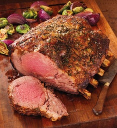 Stock Yards® Bone-In Rib Roast