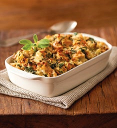 Swiss Chard and Artichoke Stuffing