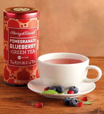 Pomegranate Blueberry Tea