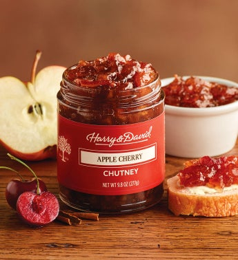 Apple Cherry Chutney