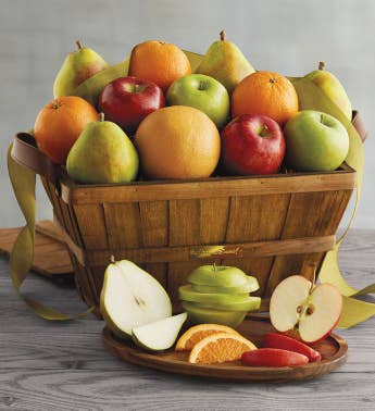 9-Month Organic Gift Basket Fruit-of-the-Month Club174 Collection Begins in November
